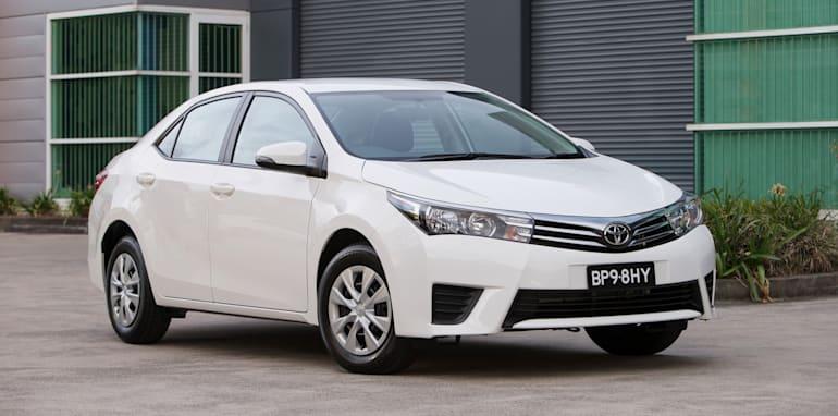 2014 Toyota Corolla Sedan Ascent