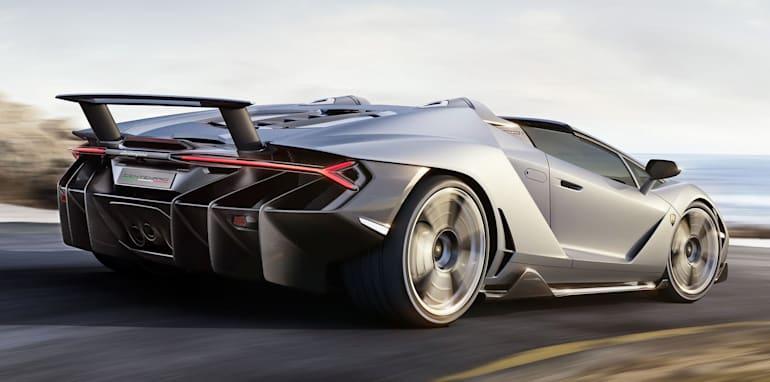 2017 Lamborghini Centenario Roadster Unveiled Already Sold Out