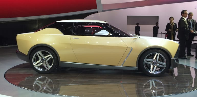 Nissan IDx Freeflow profile