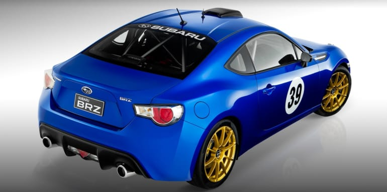 Subaru BRZ Motorsport Project - 2