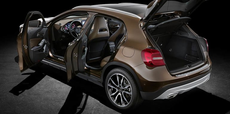 Mercedes-Benz GLA official leak 6