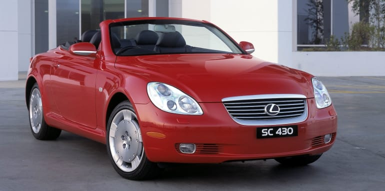 2001 Lexus SC430. 010923