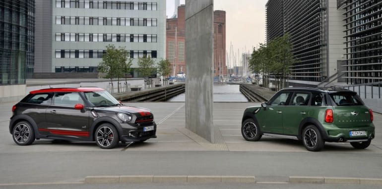 Mini Countryman and Paceman_1