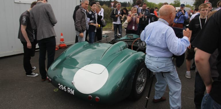 Stirling Moss DBR16