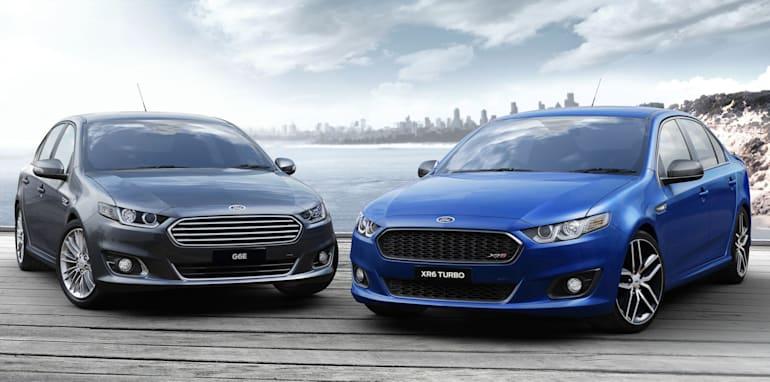 Ford Falcon twins
