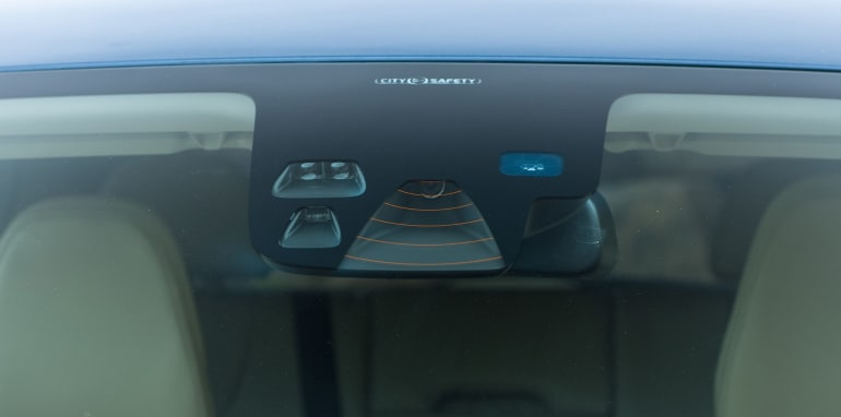 Volvo City Safety Lidar