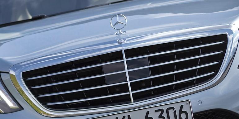 Mercedes-Benz S63 AMG radar
