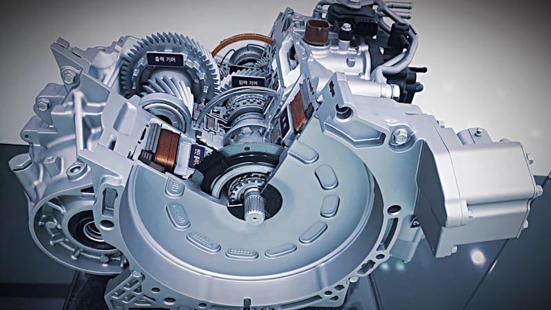 động cơ xe Hyundai