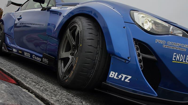 普利司通推出街头合法赛道规格波坦察RE-71RS轮胎系列