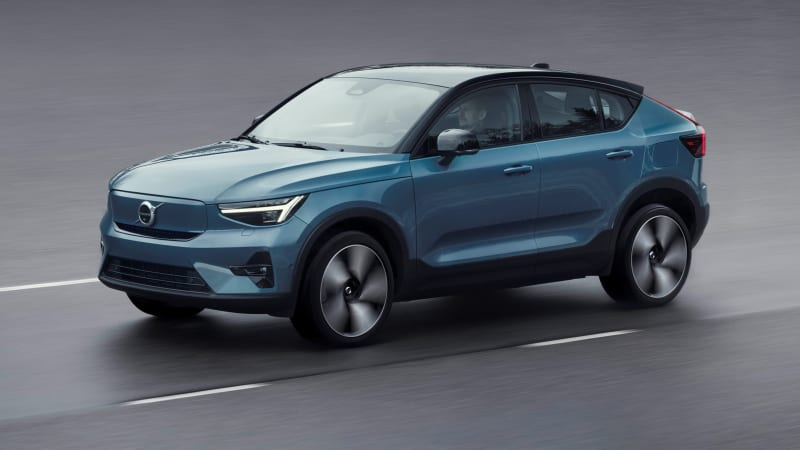 2022 Volvo C40 Recharge electric SUV unveiled