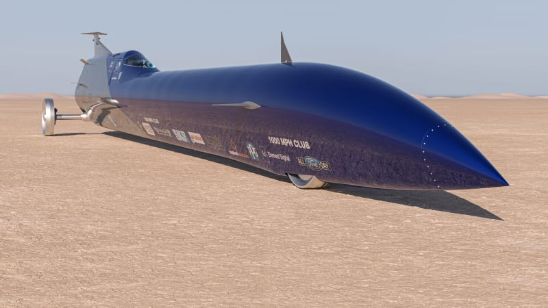 Exclusive: Aussie Invader 5R rocket-car to attempt land speed record and 1000mph in 2022