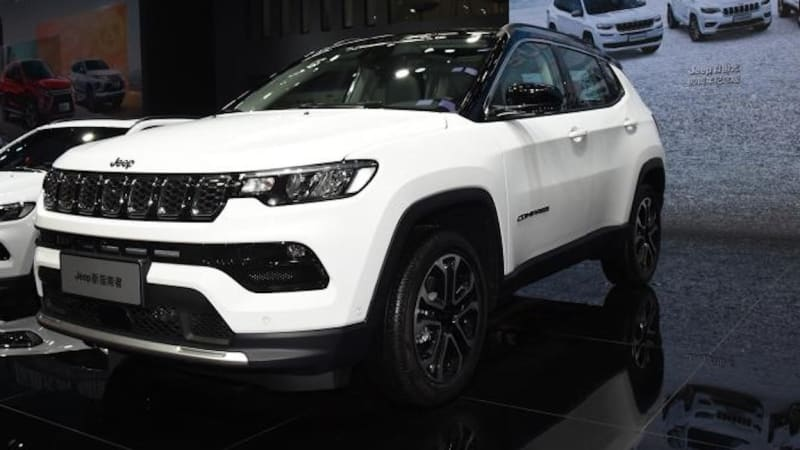 2022 Jeep Compass revealed at Guangzhou motor show