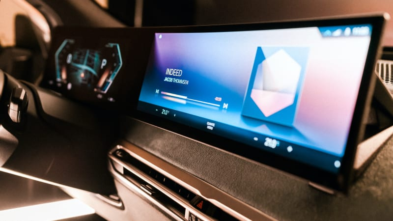 BMW previews new iDrive infotainment system