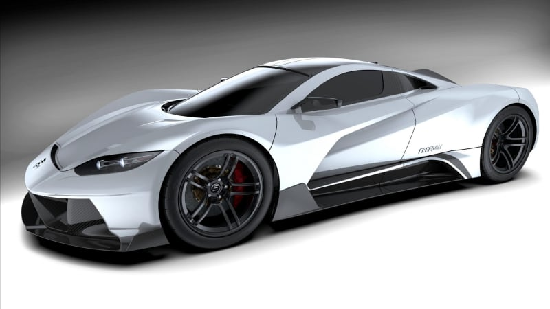 Start-up brand Elation previews Freedom hypercar