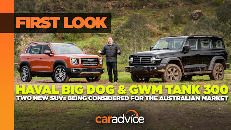 Video: 2022 Haval Big Dog and GWM Tank 300 preview