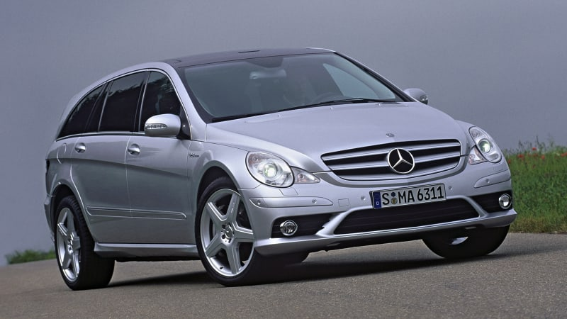 Mercedes-Benz R-Class to return in 2025 as AMG-badged 750kW EV – report