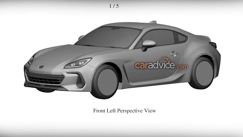 2022 Subaru BRZ patented in Australia as local launch draws closer