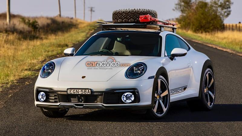 2021 Porsche 911 Carrera Cross: High-riding 'Safari' imagined