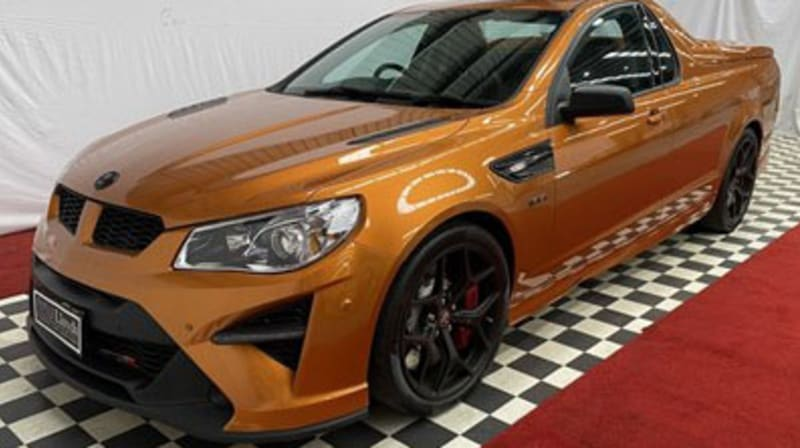 HSV Maloo GTSR W1 bids pass $1 million, on track to become most expensive Australian road car