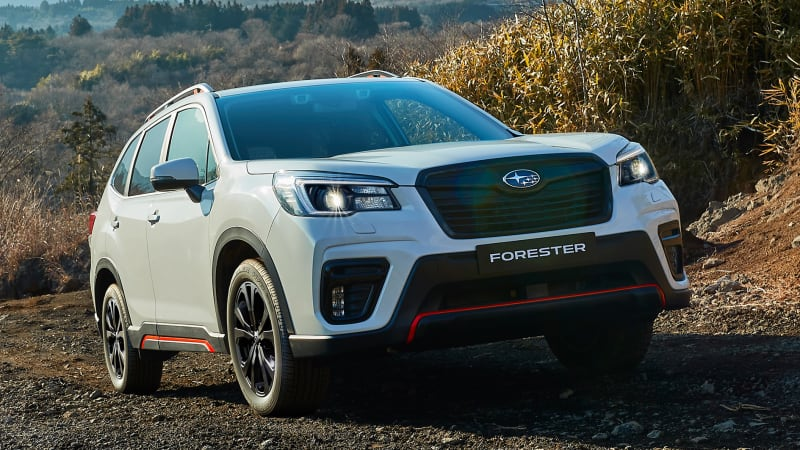 2021 Subaru Forester line-up gains sporty new variant