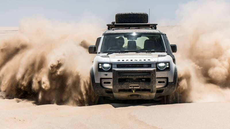 Best of the Best - 2020 Land Rover Defender review: International first drive in Namibia