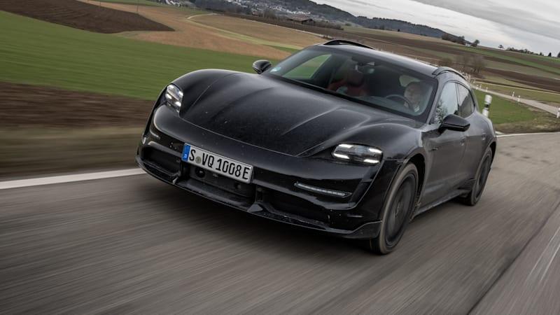 2021 Porsche Taycan Cross Turismo Prototype review