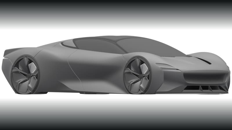 Jaguar files patent for mysterious hypercar design