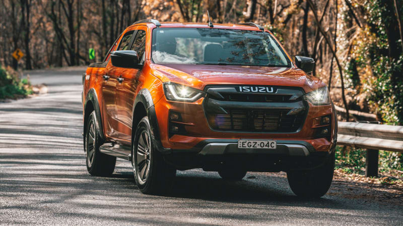 Isuzu D-Max on sale today, but deliveries delayed until next month