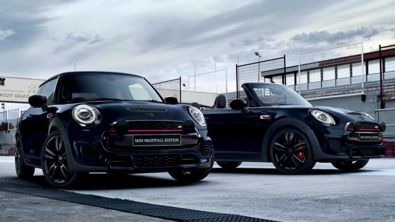 Mini launches limited Nightfall Edition hatch and convertible variants