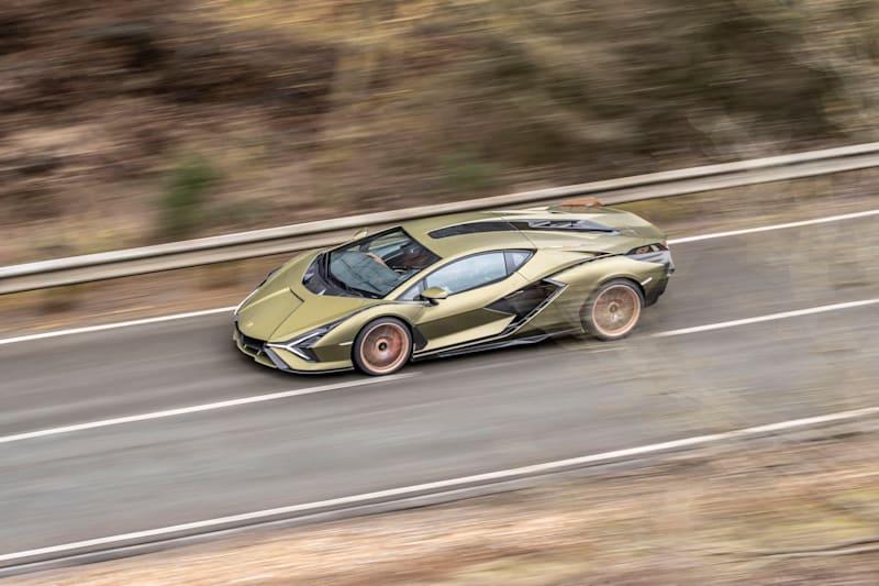 2021 Lamborghini Sián review