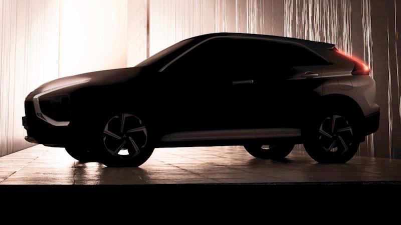 2021 Mitsubishi Eclipse Cross teased, plug-in hybrid coming to Australia
