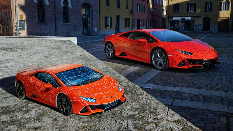 Lamborghini releases Huracán EVO in 3D puzzle form