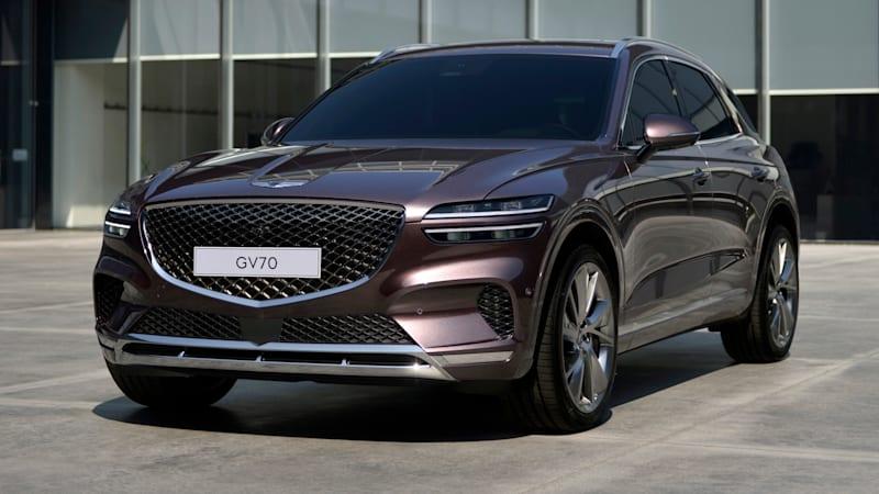 2021 Genesis GV70 revealed: Luxury medium-sized SUV bound for Australia