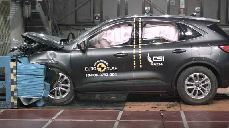 2020 Ford Escape awarded five-star safety rating