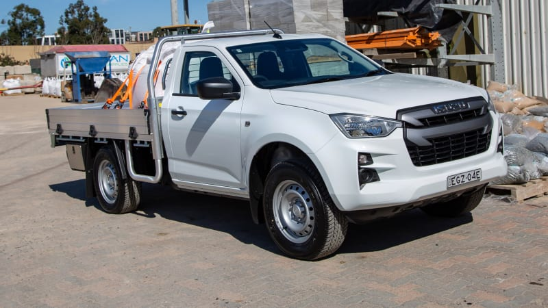 2021 Isuzu D-Max review: SX cab-chassis 4x2