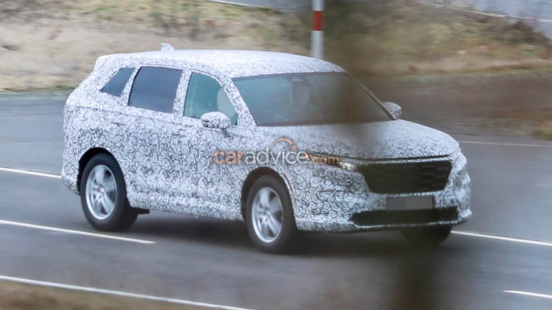 2022 Honda CR-V spied during testing