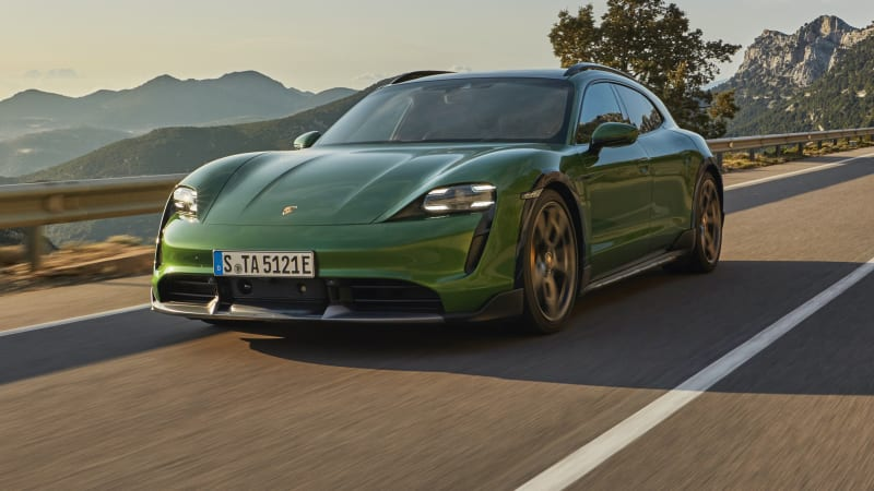 2022 Porsche Taycan Cross Turismo price and specs: High-riding electric wagon here by October