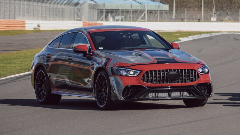 2021 Mercedes-AMG GT73e plug-in hybrid teased, could develop over 600kW