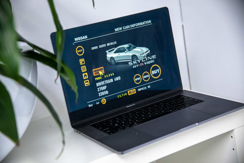 Relive the glory days of Gran Turismo from your laptop!