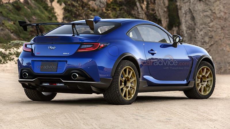 2022 Subaru BRZ STI Rallye: Off-road 'Safari' coupe imagined