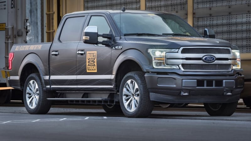 Video: Electric Ford F-150 faster than a Raptor