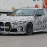 2022 BMW M4 CSL spy photos