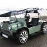 This adorable Mini Moke has a Maserati V8 engine