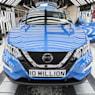 Nissan builds 10 millionth vehicle in Sunderland