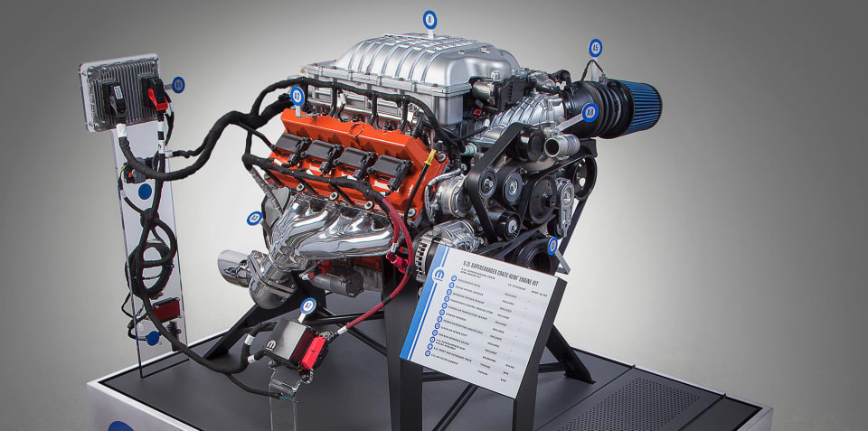 Dodge Hellcat V8, Honda Civic Type R motors now available as crate engines