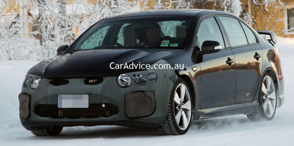 FPV GT-H intercooled supercharged GT caught testing