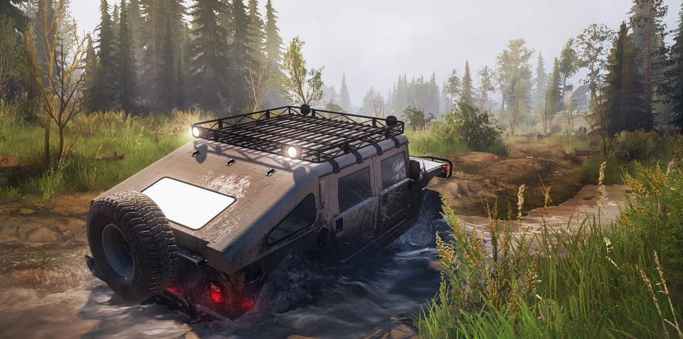 Spintires: Mud Runner American Wilds review
