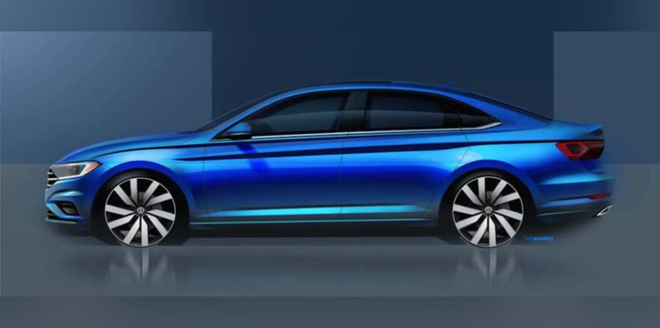 2018 Volkswagen Jetta teased, Australian debut unlikely - UPDATE