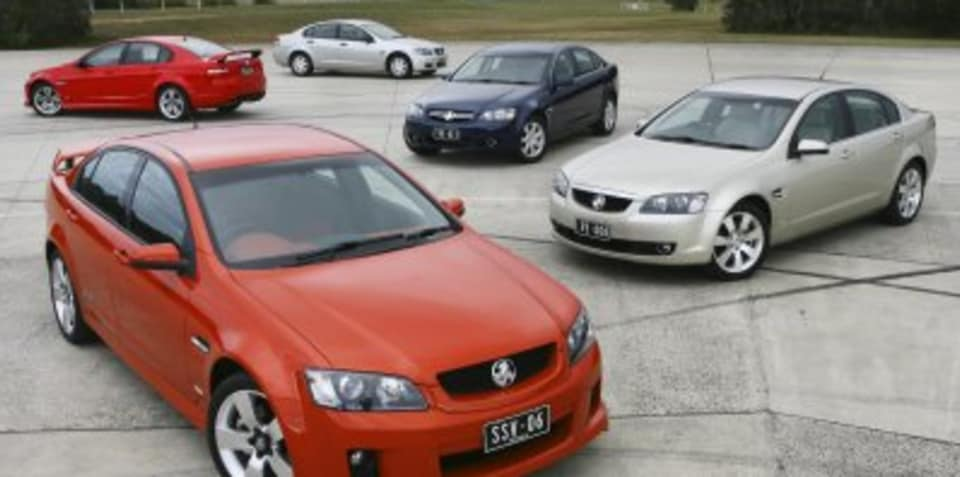 Holden VE Commodore Suspension System