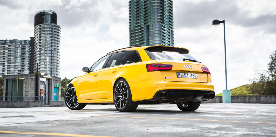 Touring the Audi RS6 Avant Performance with Exclusive paint and other bits - VIDEO